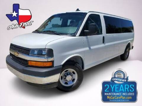 2017 Chevrolet Express Passenger for sale at AUTO DIRECT in Houston TX