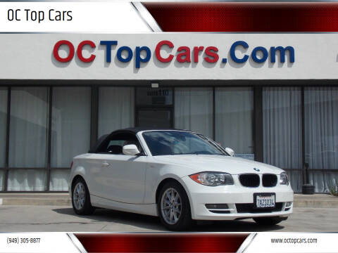 2010 BMW 1 Series for sale at OC Top Cars in Irvine CA