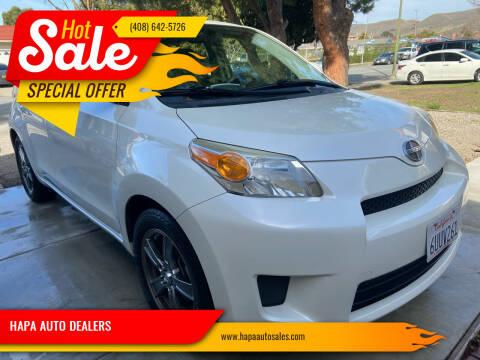 2012 Scion xD for sale at HAPA AUTO DEALERS in Santa Clara CA