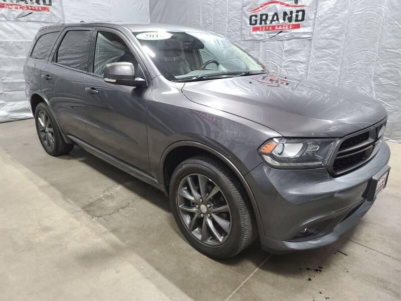 2018 Dodge Durango for sale at GRAND AUTO SALES in Grand Island NE