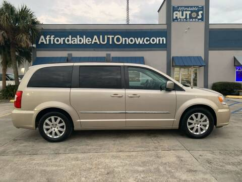 2014 Chrysler Town and Country for sale at Affordable Autos in Houma LA