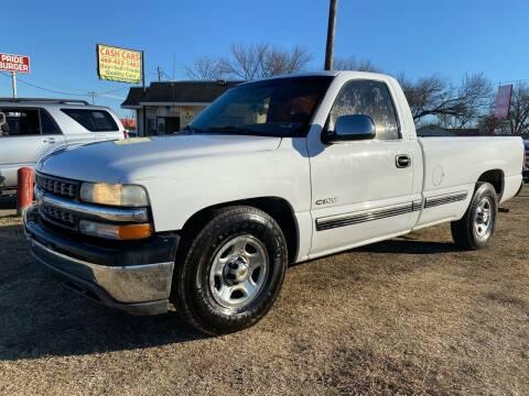2000 Chevrolet Silverado 1500 for sale at Texas Select Autos LLC in Mckinney TX