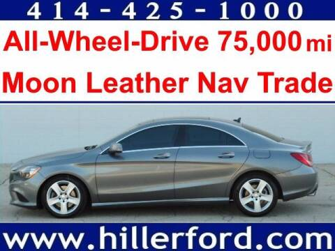 2015 Mercedes-Benz CLA for sale at HILLER FORD INC in Franklin WI