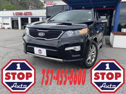 2013 Kia Sorento for sale at 1 Stop Auto in Norfolk VA