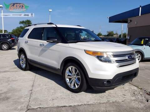 2014 Ford Explorer for sale at GATOR'S IMPORT SUPERSTORE in Melbourne FL