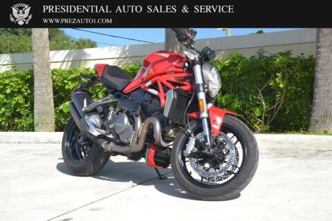 2018 Ducati Monster 1200 for sale at Presidential Auto  Sales & Service in Delray Beach FL