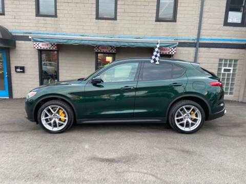 2018 Alfa Romeo Stelvio for sale at Sisson Pre-Owned in Uniontown PA