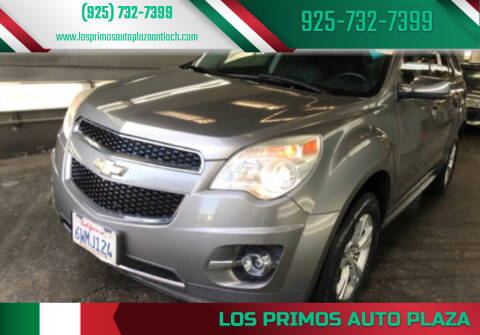 2012 Chevrolet Equinox for sale at Los Primos Auto Plaza in Antioch CA