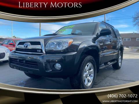 2006 Toyota 4Runner for sale at Liberty Motors in Billings MT