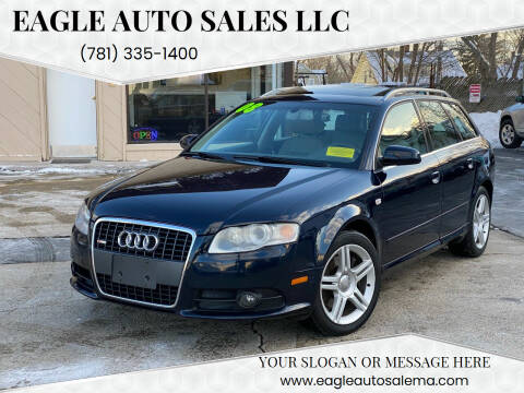 2008 Audi A4 for sale at Eagle Auto Sales LLC in Holbrook MA