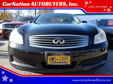 2007 Infiniti G35 for sale at CarNation AUTOBUYERS, Inc. in Rockville Centre NY