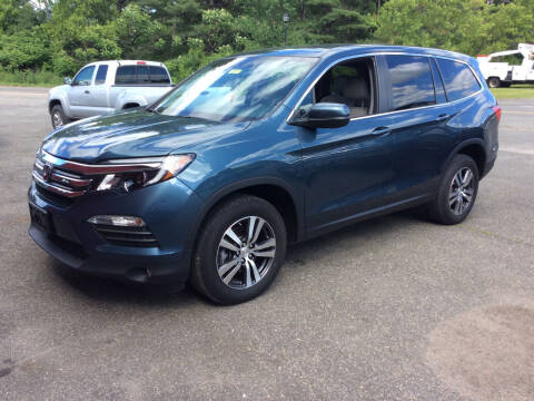 2018 Honda Pilot for sale at Route 102 Auto Sales  and Service in Lee MA