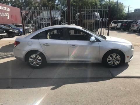 2012 Chevrolet Cruze for sale at MTA Auto in Detroit MI