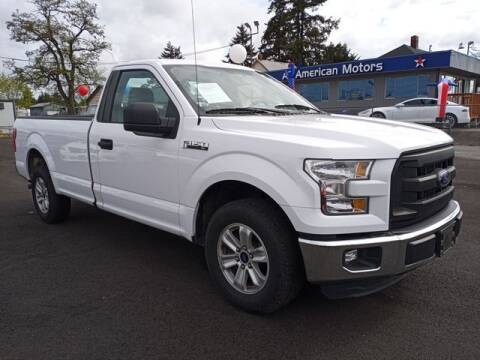 2016 Ford F-150 for sale at All American Motors in Tacoma WA