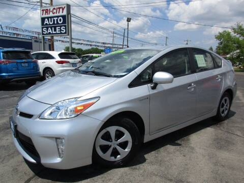 2012 Toyota Prius for sale at TRI CITY AUTO SALES LLC in Menasha WI