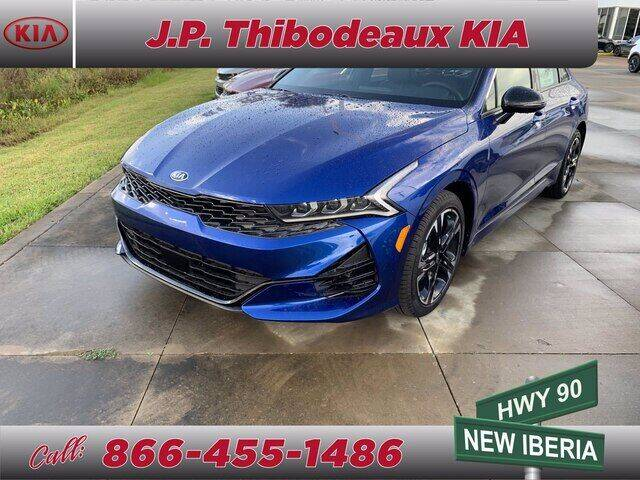 2021 Kia K5 for sale at J P Thibodeaux Used Cars in New Iberia LA