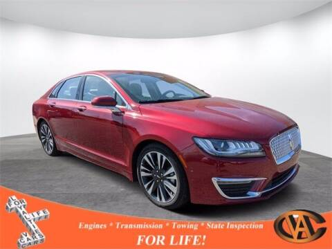 2019 Lincoln MKZ Hybrid for sale at VA Cars Inc in Richmond VA