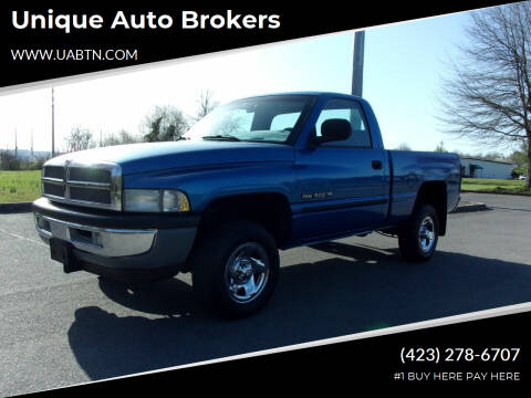 2001 Dodge Ram Pickup 1500 for sale at Unique Auto Brokers in Kingsport TN