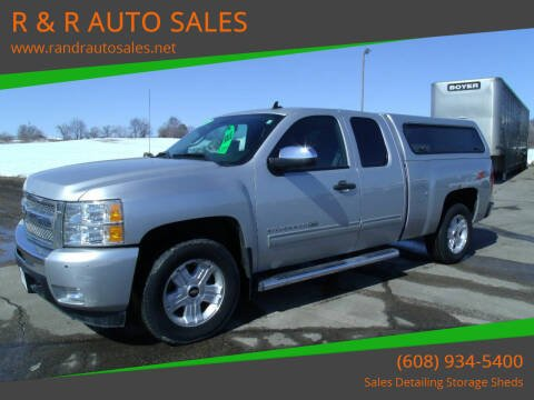 2011 Chevrolet Silverado 1500 for sale at R & R AUTO SALES in Juda WI