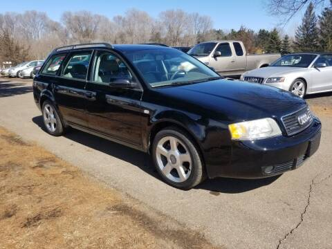 2003 Audi A6 for sale at Shores Auto in Lakeland Shores MN