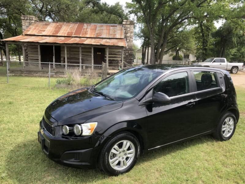 2016 Chevrolet Sonic for sale at Village Motors Of Salado in Salado TX