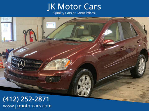 2006 Mercedes-Benz M-Class for sale at JK Motor Cars in Pittsburgh PA