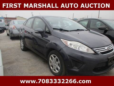 2013 Ford Fiesta for sale at First Marshall Auto Auction in Harvey IL