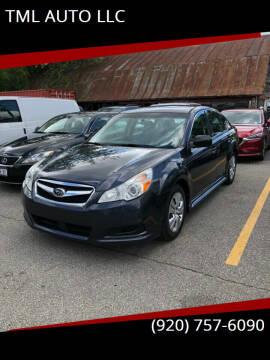 2010 Subaru Legacy for sale at TML AUTO LLC in Appleton WI