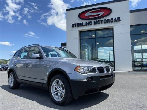 2004 BMW X3 for sale at Sterling Motorcar in Ephrata PA