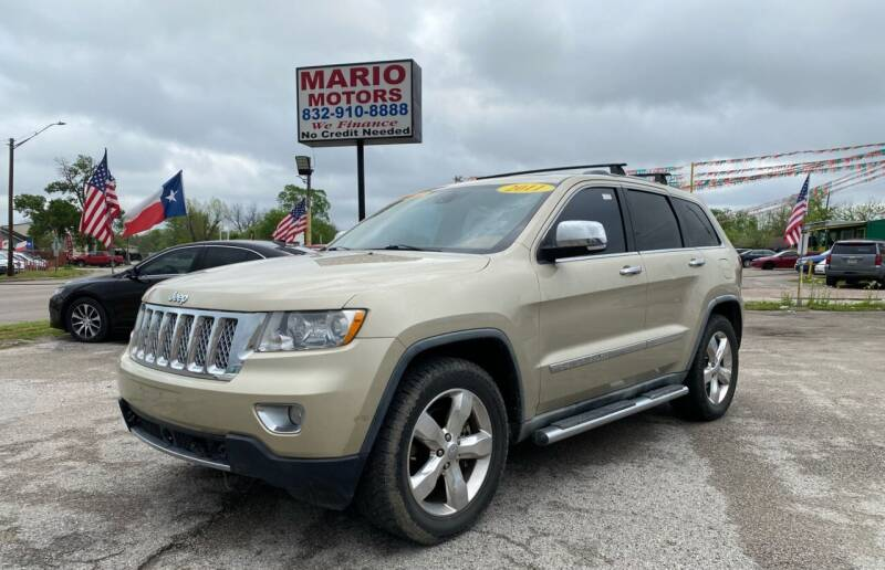 2011 Jeep Grand Cherokee for sale at Mario Motors in South Houston TX