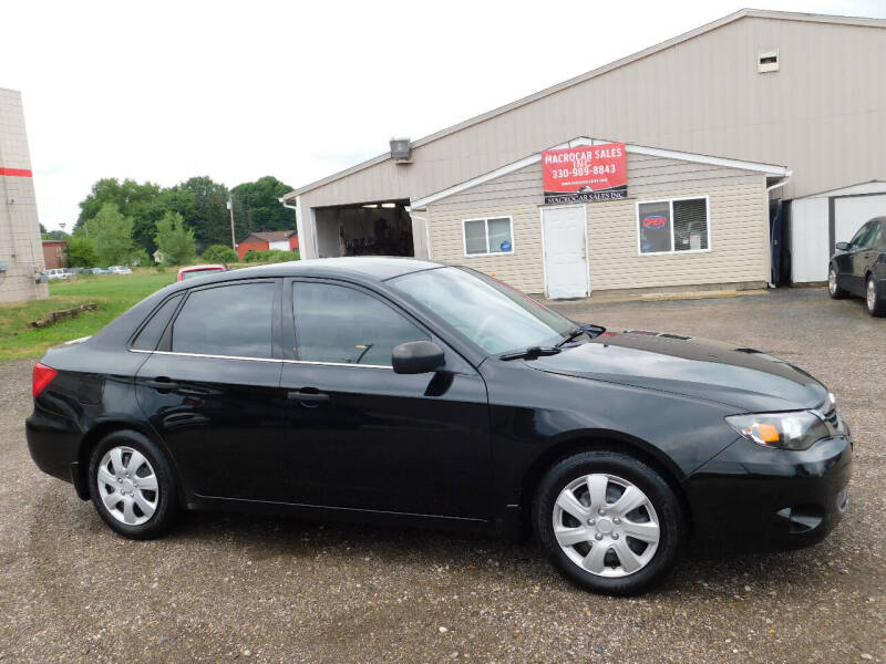 2008 Subaru Impreza for sale at Macrocar Sales Inc in Akron OH