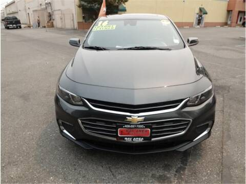 2016 Chevrolet Malibu for sale at BAY AREA CAR SALES in San Jose CA