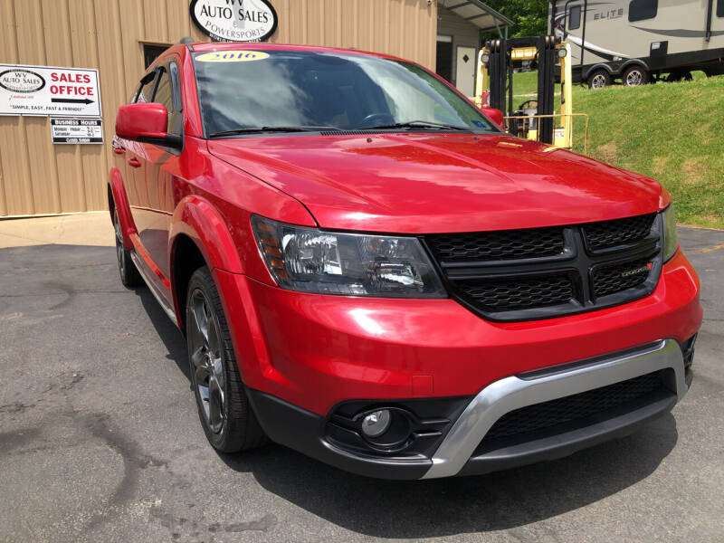 2016 Dodge Journey for sale at W V Auto & Powersports Sales in Cross Lanes WV