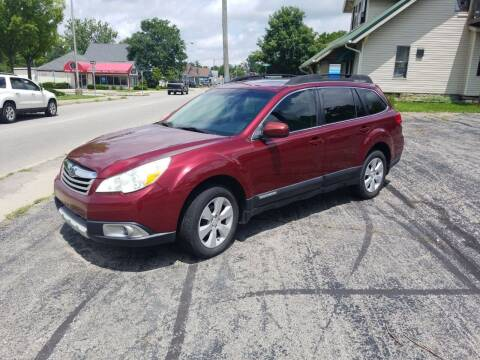 2011 Subaru Outback for sale at Indiana Auto Sales Inc in Bloomington IN