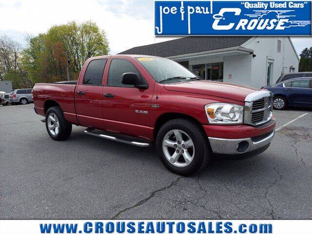 2008 Dodge Ram Pickup 1500 for sale at Joe and Paul Crouse Inc. in Columbia PA