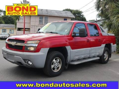 2002 Chevrolet Avalanche for sale at Bond Auto Sales in St Petersburg FL