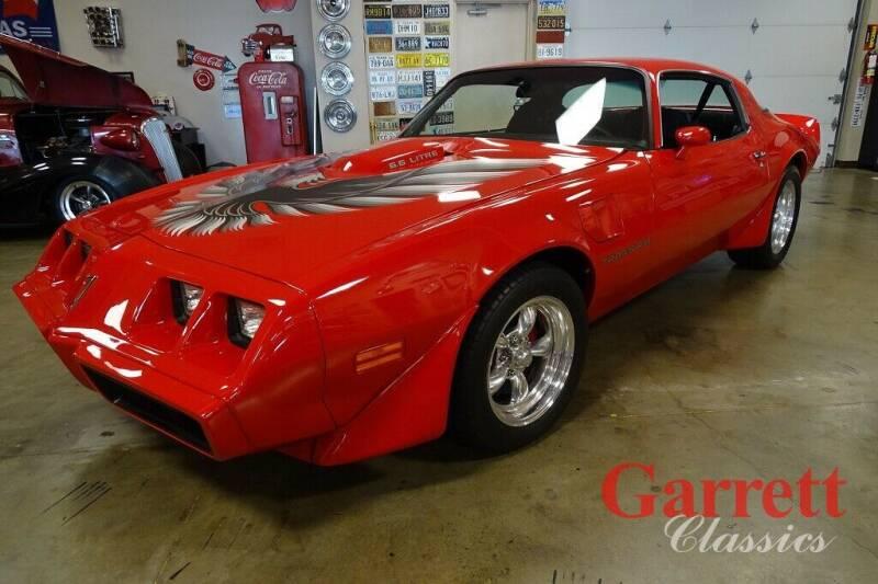 1979 Pontiac Firebird for sale at Garrett Classics in Lewisville TX