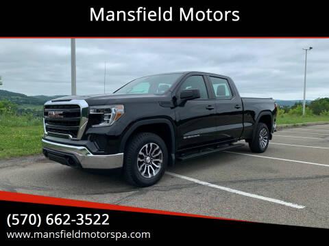 2019 GMC Sierra 1500 for sale at Mansfield Motors in Mansfield PA