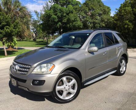 2008 Mercedes-Benz M-Class for sale at FIRST FLORIDA MOTOR SPORTS in Pompano Beach FL