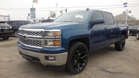 2015 Chevrolet Silverado 1500 for sale at Luxor Motors Inc in Pacoima CA