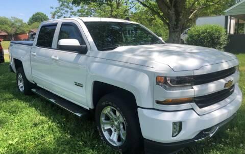2016 Chevrolet Silverado 1500 for sale at Creekside Automotive in Lexington NC