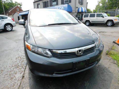 2012 Honda Civic for sale at WOOD MOTOR COMPANY in Madison TN