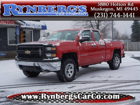 2014 Chevrolet Silverado 1500 for sale at Rynbergs Car Co in Muskegon MI