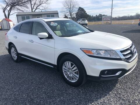 2013 Honda Crosstour for sale at RAYMOND TAYLOR AUTO SALES in Fort Gibson OK