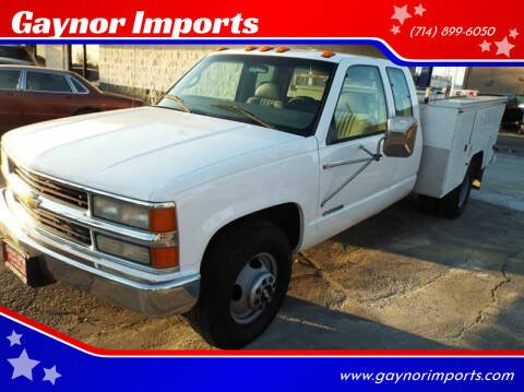 2000 Chevrolet C/K 3500 Series for sale at Gaynor Imports in Stanton CA