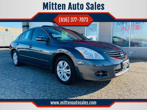 2012 Nissan Altima for sale at Mitten Auto Sales in Holland MI