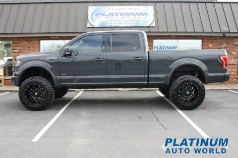 2017 Ford F-150 for sale at Platinum Auto World in Fredericksburg VA