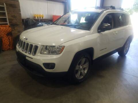2012 Jeep Compass for sale at Hometown Automotive Service & Sales in Holliston MA