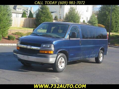 2005 Chevrolet Express Passenger for sale at Absolute Auto Solutions in Hamilton NJ