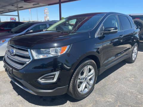 2017 Ford Edge for sale at DESANTIAGO AUTO SALES in Yuma AZ